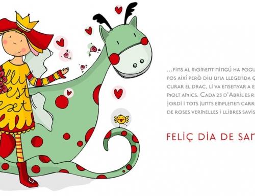 (Español) Feliç diada de Sant Jordi!
